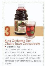 cherry juice concentrate