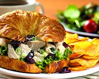 Cherry Chicken Salad Sandwich